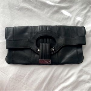 L.A.M.B by Gwen Stefanie Leather Clutch